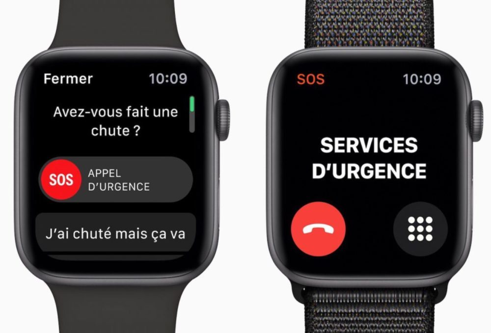 Apple Watch Series 4 Detection Chute 1000x679 Apple Watch : la fonction de détection de chute a aidé une femme de 87 ans après un accident
