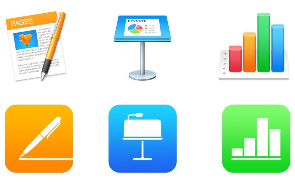 Suite iWork Apple 1000x625 Nouvelle mise à jour pour la suite iWork dApple sur iOS et macOS : Pages, Numbers, Keynote
