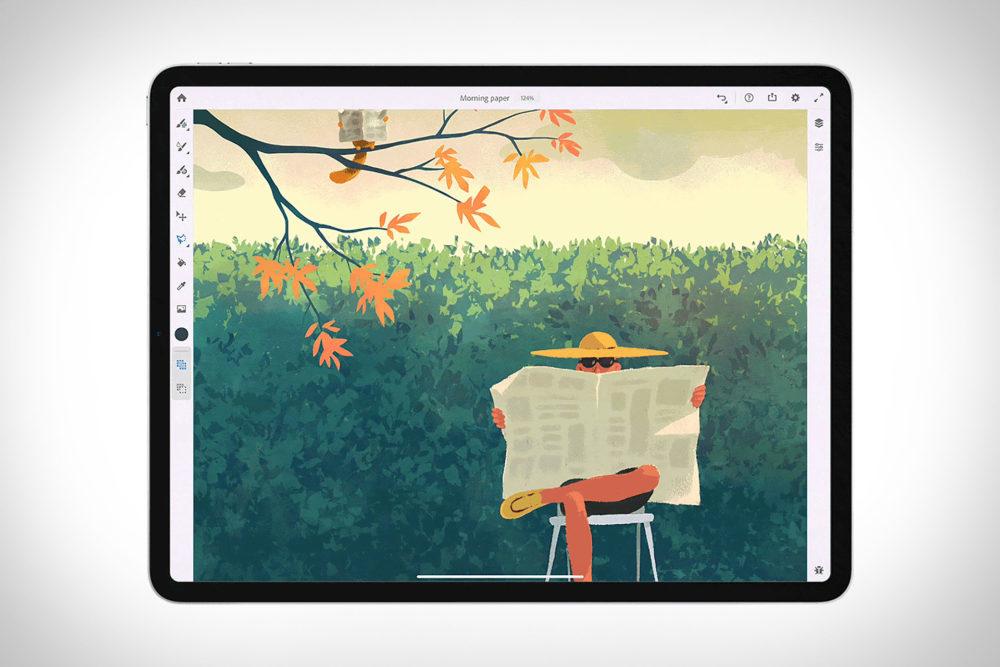 adobe fresco adobe 1000x667 Adobe annonce Adobe Fresco, sa nouvelle application de dessin pour iPad