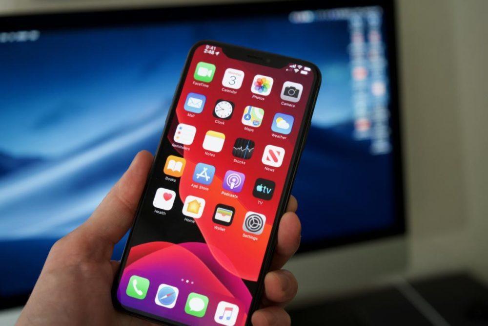 apple ios 13 fond ecran 1000x667 Apple rend disponible iOS 13.2 et iPadOS 13.2 bêta 4