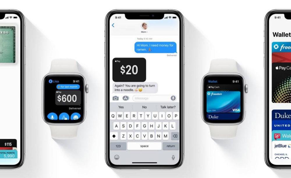 apple pay watch 1000x613 Apple Pay : une disponibilité au Mexique sous peu