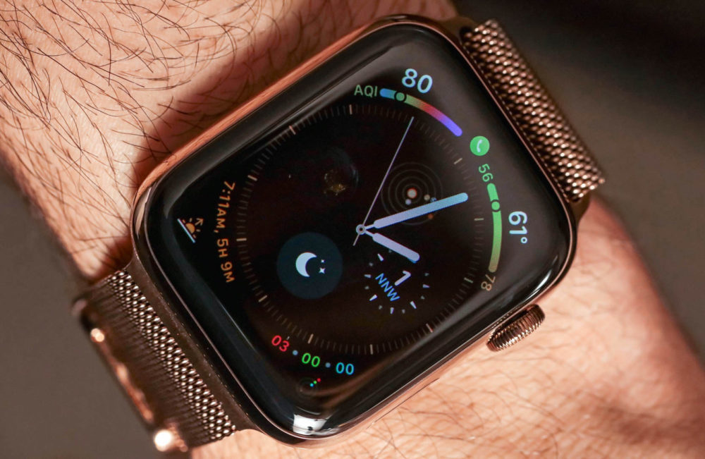 apple watch series 4 1000x651 SFR va proposer leSIM sur lApple Watch sous peu