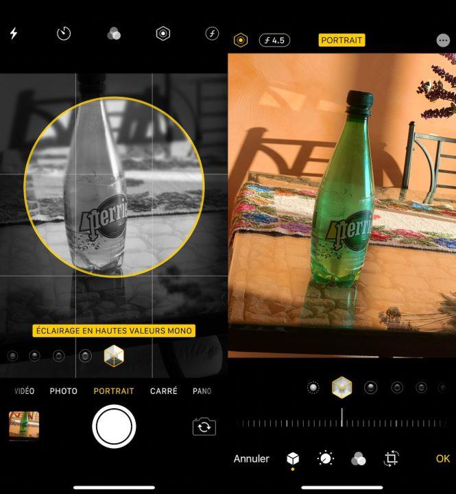 iOS 13 Appareil Photo Eclairage Hautes Valeurs Mono iOS 13 bêta 2 : voici la liste des nouveautés retrouvées