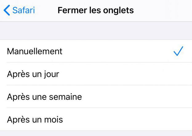 iOS 13 Beta 1 Safari Fermer Onglet Automatiquement Safari sur iOS 13 peut fermer automatiquement les onglets que vous nutilisez pas