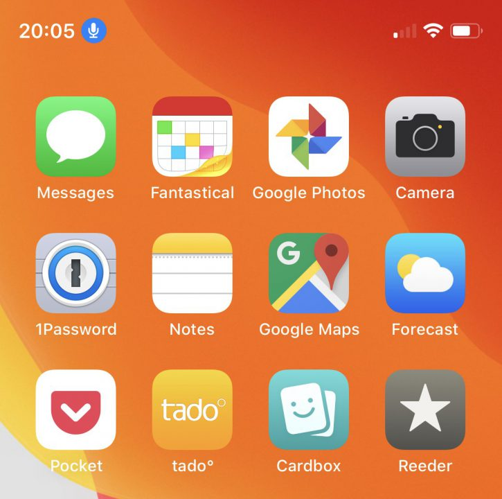 iOS 13 Icone Controle Vocal iOS 13 bêta 2 : voici la liste des nouveautés retrouvées