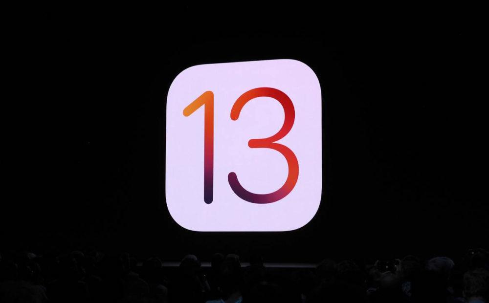 iOS 13 Logo 1000x620 WWDC 2019 : iOS 13 arrive avec le mode sombre, nouveau clavier et plus encore