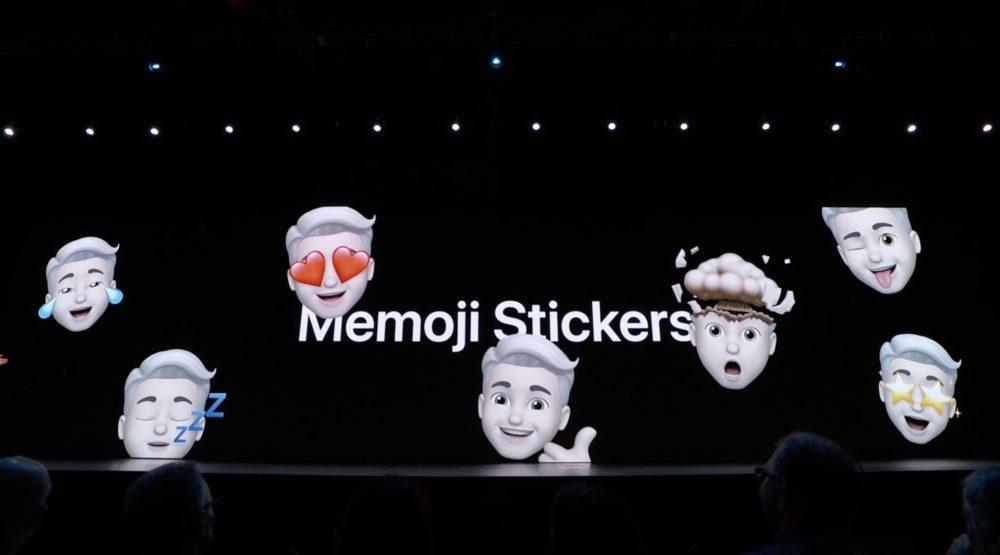 iOS 13 Memojis 1000x555 WWDC 2019 : iOS 13 arrive avec le mode sombre, nouveau clavier et plus encore