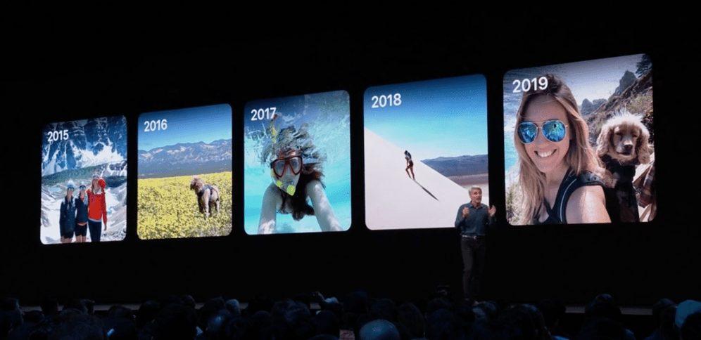 iOS 13 Photos WWDC 2019 : iOS 13 arrive avec le mode sombre, nouveau clavier et plus encore