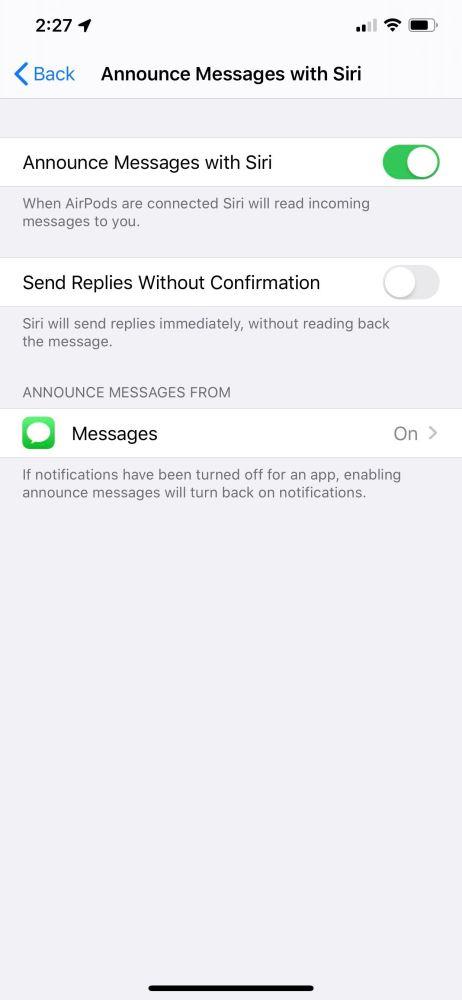 iOS 13 Siri Messages iOS 13 bêta 2 : voici la liste des nouveautés retrouvées