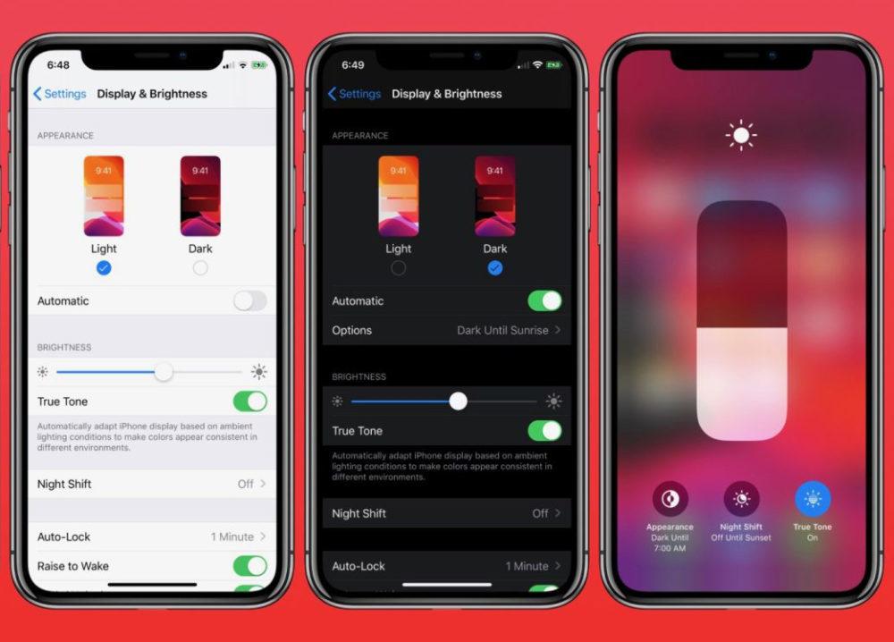 iOS 13 nouveautes 1000x718 Apple diffuse la bêta 1 publique diOS 13, diPadOS 13, de macOS 10.15 Catalina et de tvOS 13