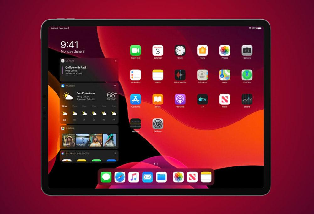 iPadOS 13 WWDC 1000x680 WWDC 2019 : voici les nouveautés diPadOS 13, le nouveau système dexploitation des iPad