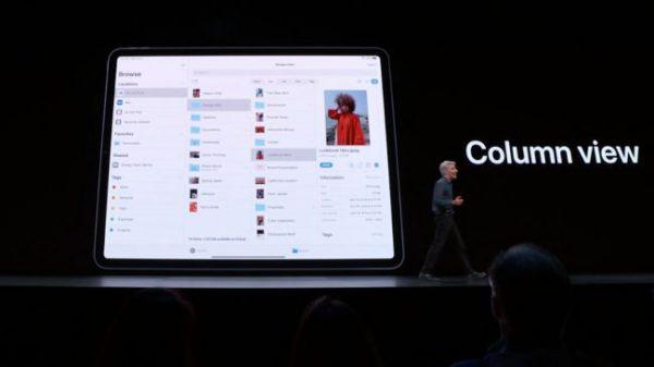 iPadOS 13 WWDC Colonnes WWDC 2019 : voici les nouveautés diPadOS 13, le nouveau système dexploitation des iPad