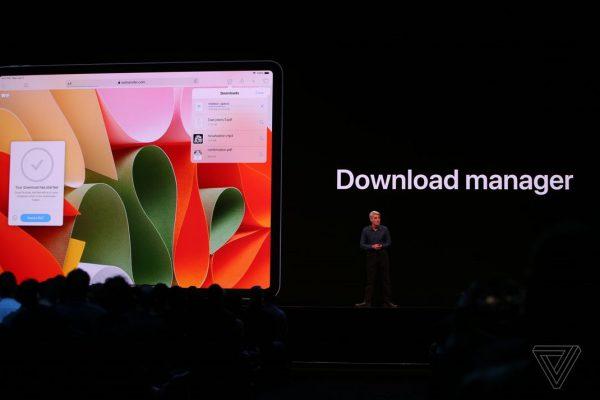 iPadOS 13 WWDC Safari WWDC 2019 : voici les nouveautés diPadOS 13, le nouveau système dexploitation des iPad