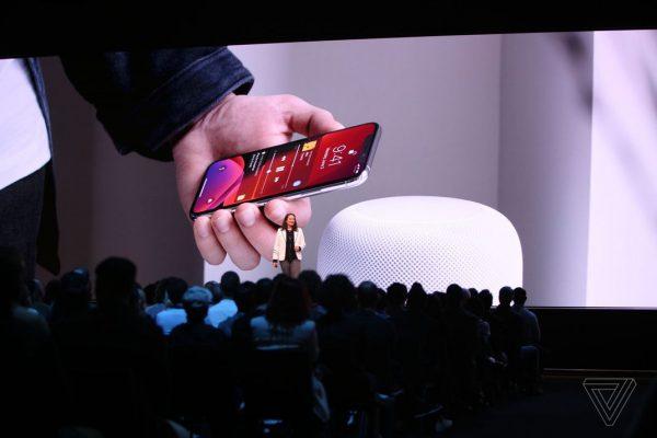 ios 13 HomePod WWDC 2019 WWDC 2019 : iOS 13 arrive avec le mode sombre, nouveau clavier et plus encore