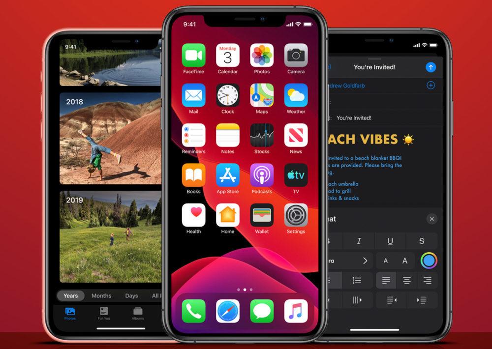 ios 13 iPhone XR XS 1000x710 iOS 13 : supprimer les applications installées depuis lApp Store, cest désormais possible