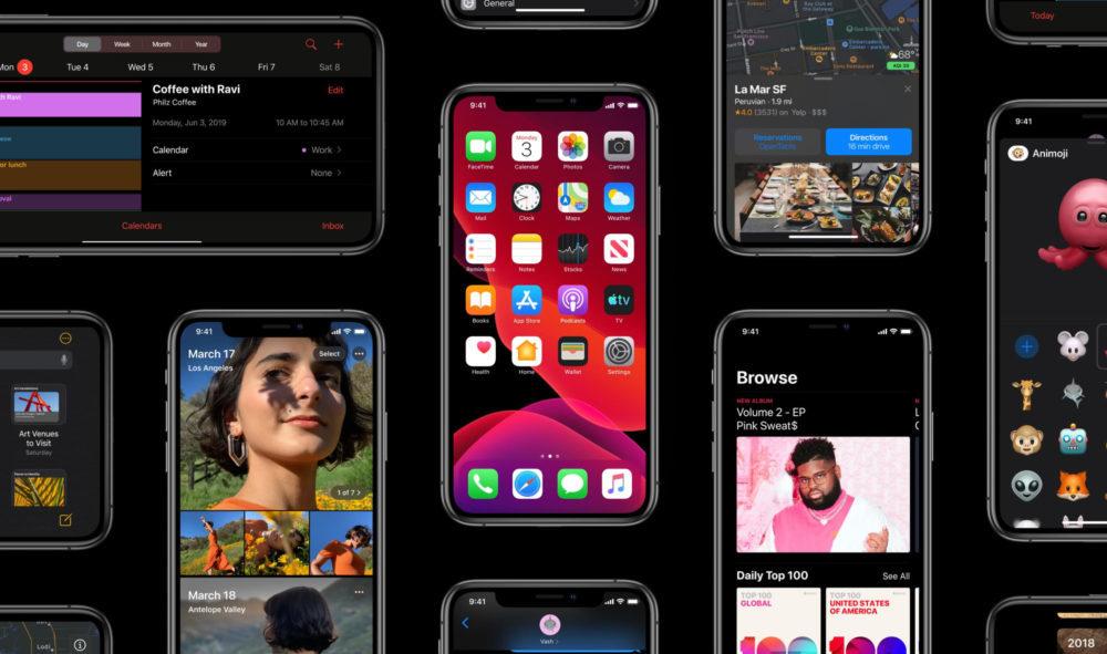 ios 13 iphone ipod compatible 1000x591 Voici la liste des iPhone et iPod touch compatibles iOS 13