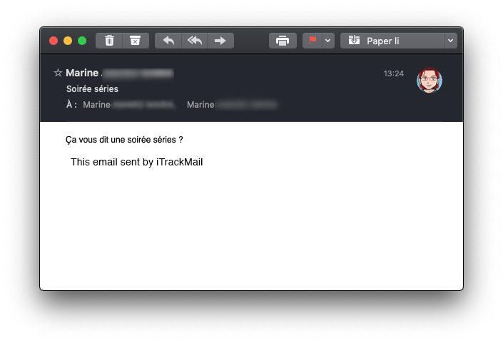itrackmail mail signature Comment recevoir des accusés de réception de vos emails sur iPhone