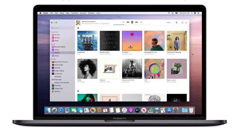 macOS Catalina App Musique Apple fournit des explications au sujet des modifications à venir avec iTunes sur macOS Catalina