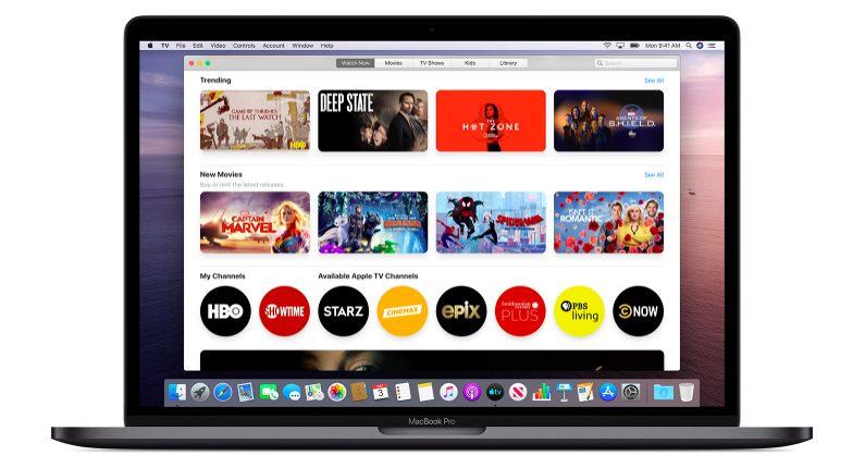 macOS Catalina App TV Apple fournit des explications au sujet des modifications à venir avec iTunes sur macOS Catalina