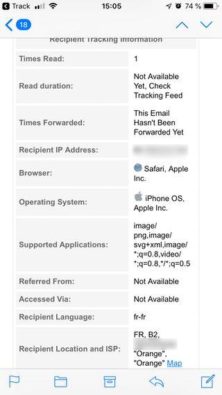 track iphone informations email Comment recevoir des accusés de réception de vos emails sur iPhone