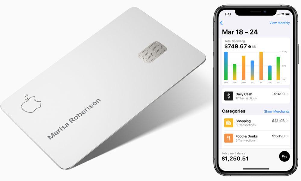 Apple Card iPhone 1000x602 LApple Card ferait son arrivée au début du mois d'août