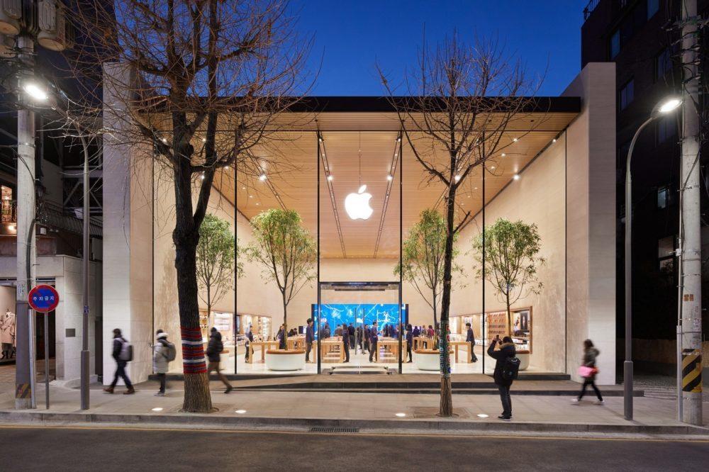 Apple Store 3 1000x666 Apple a publié ses résultats financiers pour le premier trimestre de 2020 : hausse pour liPhone