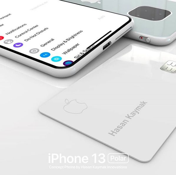 Concept iPhone 13 Polar 2 Un concept baptisé iPhone 13 « Polar » imagine déjà liPhone 13