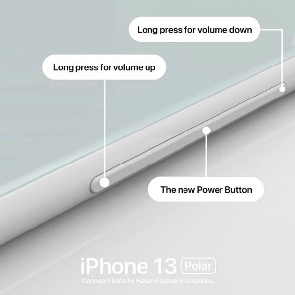 Concept iPhone 13 Polar 3 Un concept baptisé iPhone 13 « Polar » imagine déjà liPhone 13