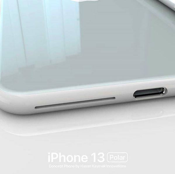 Concept iPhone 13 Polar 4 Un concept baptisé iPhone 13 « Polar » imagine déjà liPhone 13