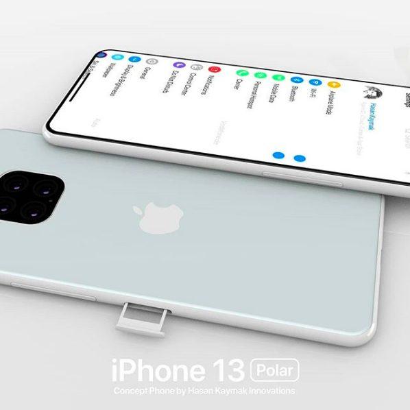 Concept iPhone 13 Polar 6 Un concept baptisé iPhone 13 « Polar » imagine déjà liPhone 13