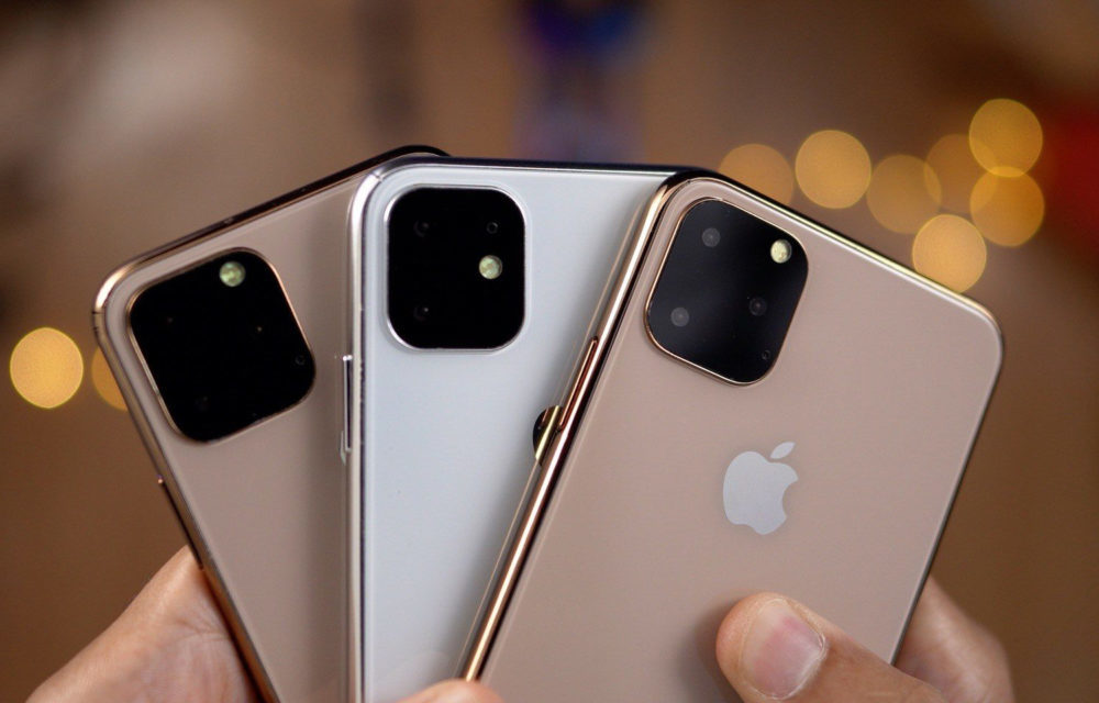 Maquettes iPhone 2019 1000x640 iPhone de 2020 : des capteurs 3D de temps de vol placés à larrière