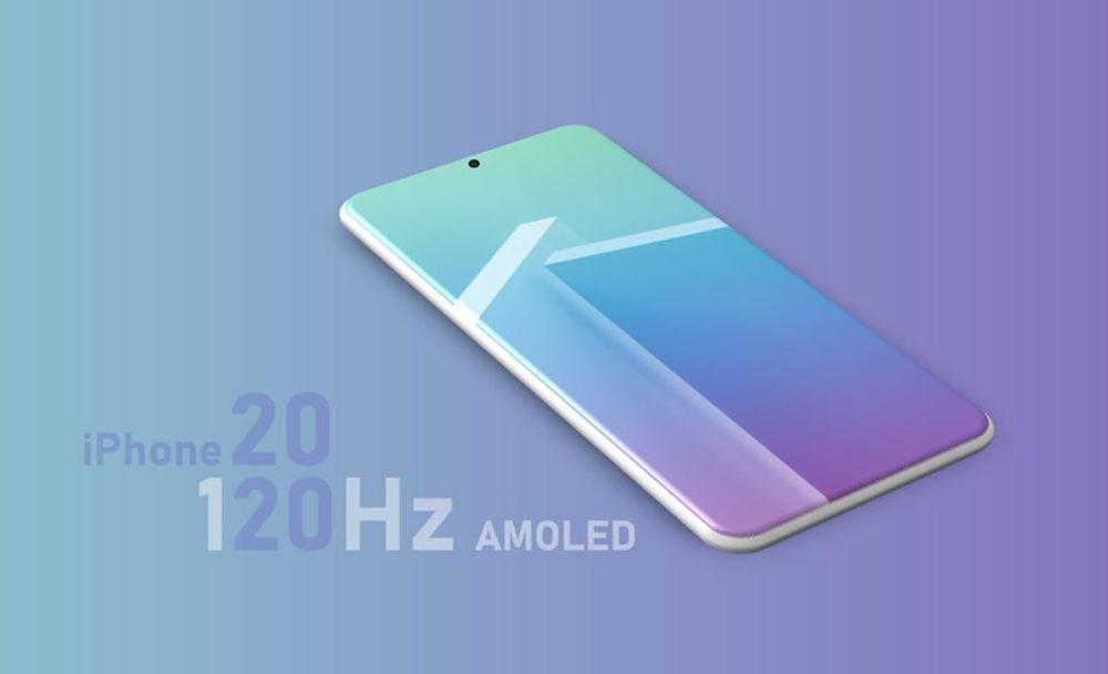 iPhone 2020 Ecran Pro Motion 1000x608 iPhone 13 120 Hz : Samsung, qui fournit des écrans OLED à Apple, va produire lécran LTPO