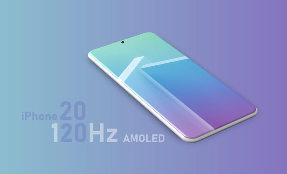 iPhone 2020 Ecran Pro Motion 1000x608 La technologie ProMotion (120 Hz) serait disponible sur les écrans des iPhone de 2020