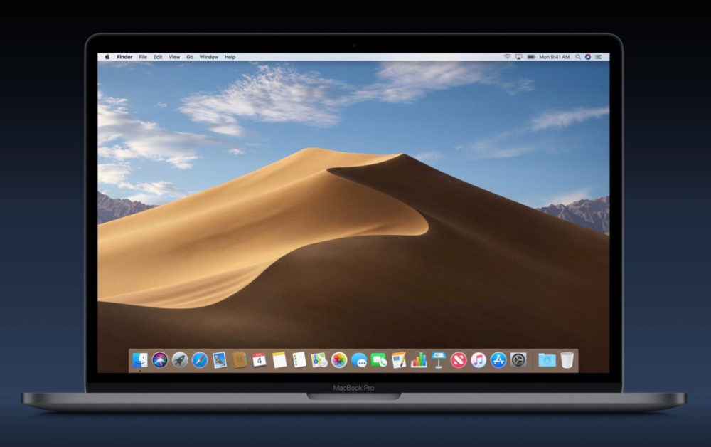 macos mojave macbook pro 1000x628 Apple rend disponible la version finale de macOS 10.14.6