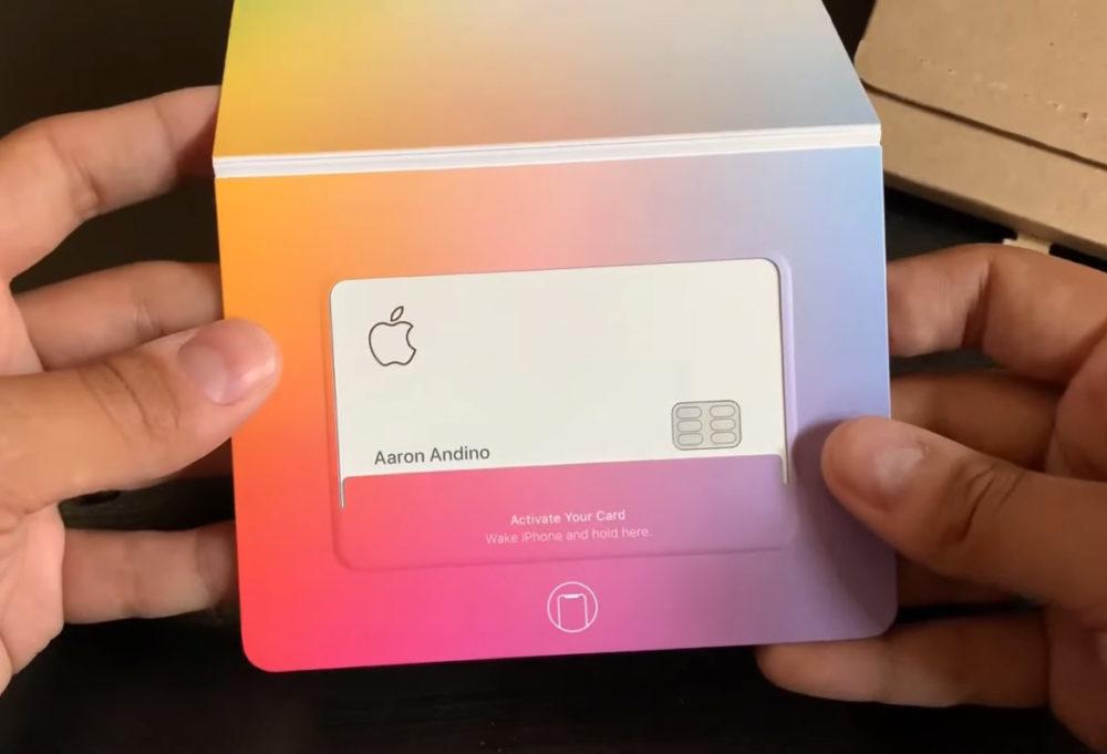 Apple Card Emballage 1000x681 Apple Card : Apple place une puce NFC en forme de clé dans lemballage
