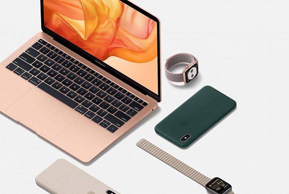 MacBook Air 2018 Apple Watch 4 iPhone XS 1000x670 Apple enregistre de nouveaux iPhone, de nouvelles Apple Watch et de nouveaux Mac