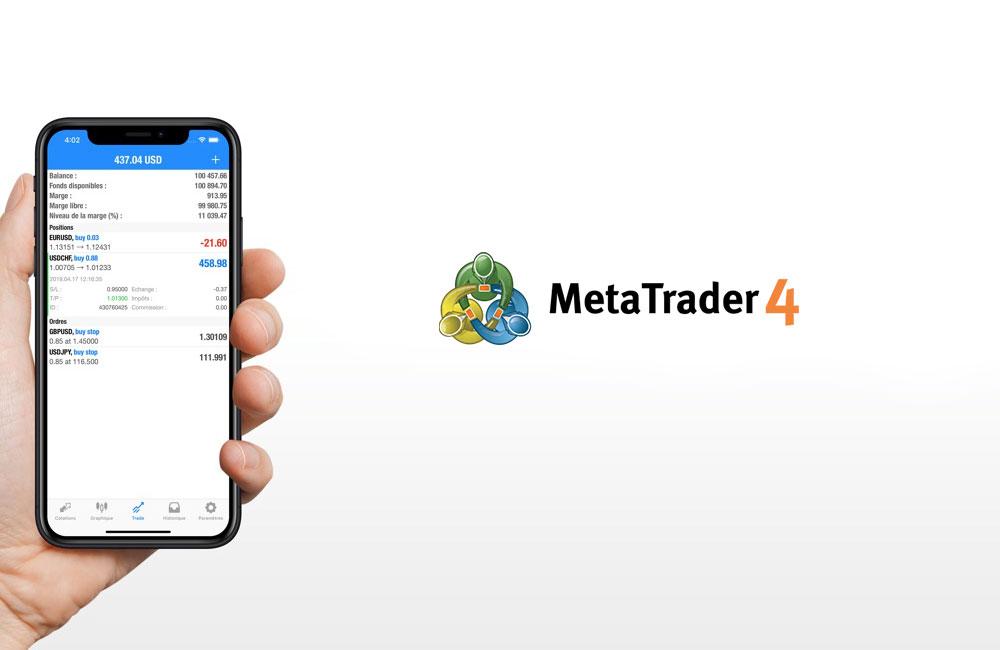 MetaTrader 4 iphone app La meilleure application trading pour iPhone   MetaTrader 4