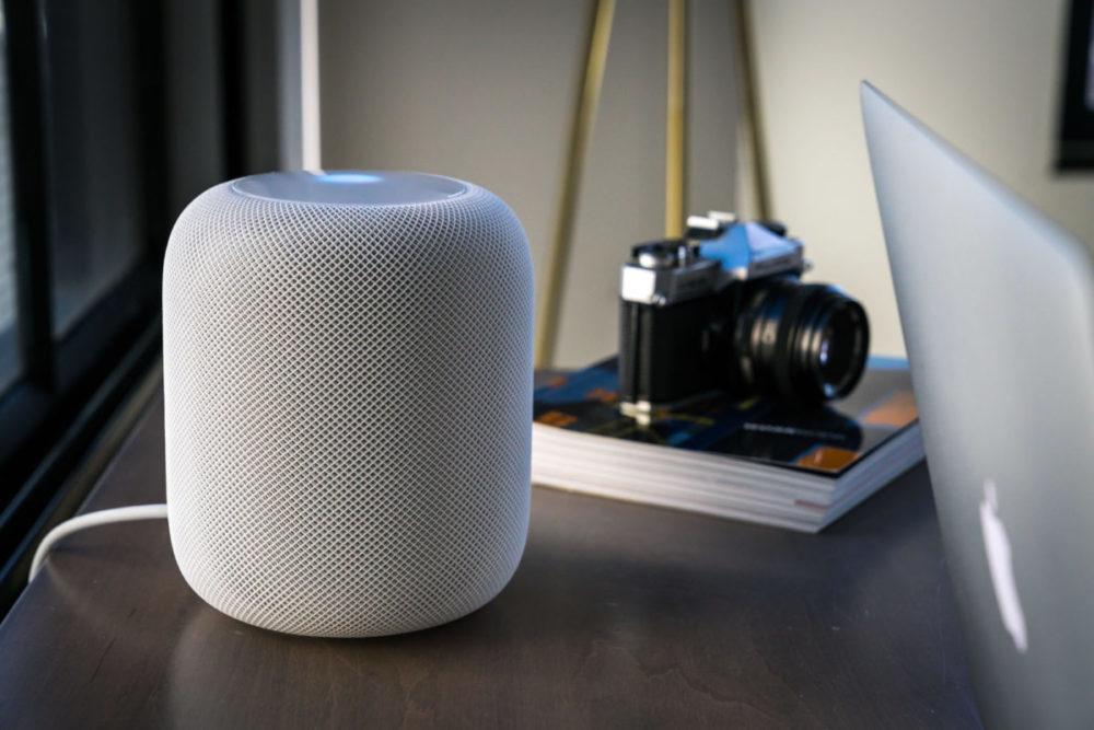 homepod blanc 1000x667 HomePod : Apple pourrait publier un modèle plus petit et moins cher cette année
