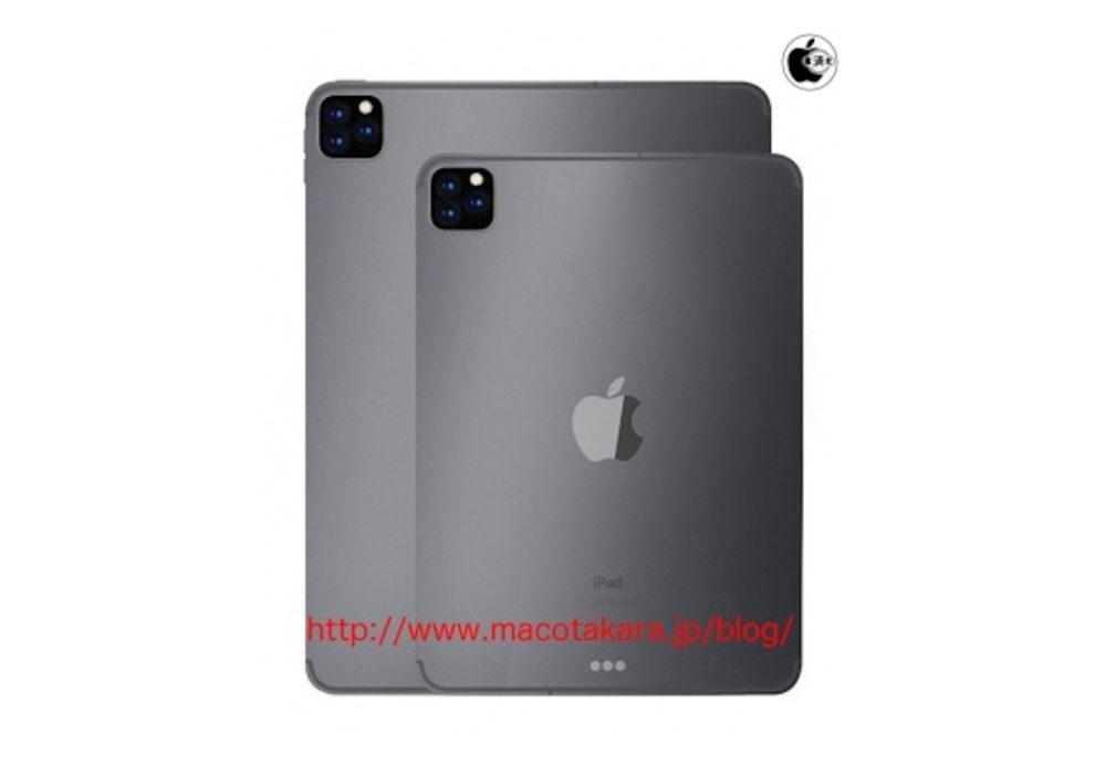 iPad Pro 2019 Capteurs Photo 1000x692 LiPad Pro 2019 aurait 3 capteurs photo et liPad 10,2 pouces, 2 capteurs