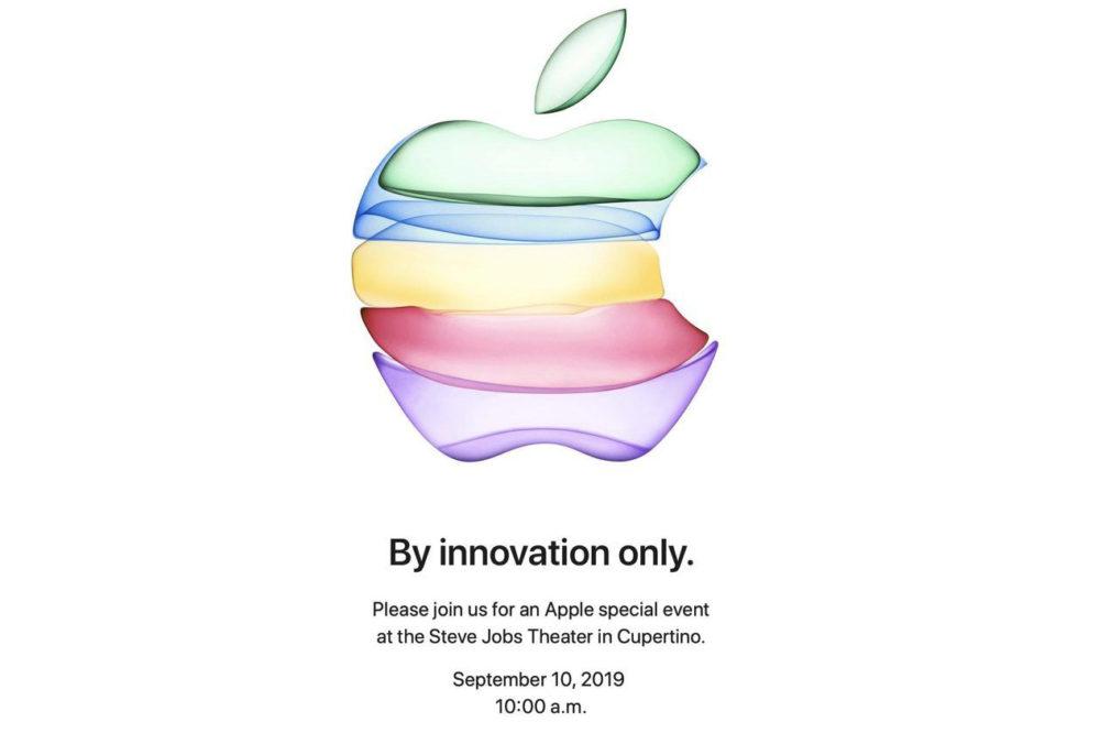 keynote sept 2019 Keynote le 10 septembre, iPhone 2019 annoncés