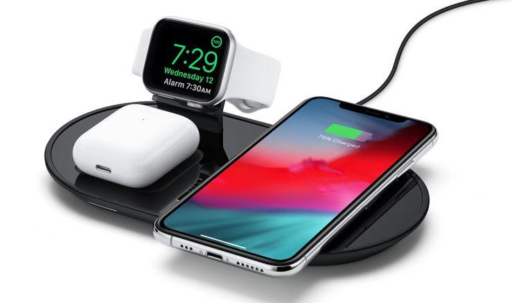 mophie 3 in 1 wireless charging pad equivalent airpower 1 Apple met en vente un équivalent du AirPower qui recharge jusquà 3 appareils à la fois