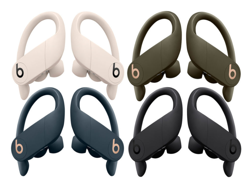 powerbeats pro beats coloris 1000x750 Écouteurs Powerbeats Pro : les 3 autres coloris arriveront la semaine prochaine