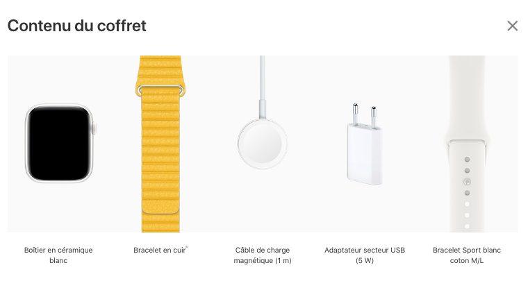 Apple Watch Series 5 Ceramique Contenu Boite Apple Watch Series 5 : 32 Go de stockage et les modèles titane/céramique débarquent avec 2 bracelets