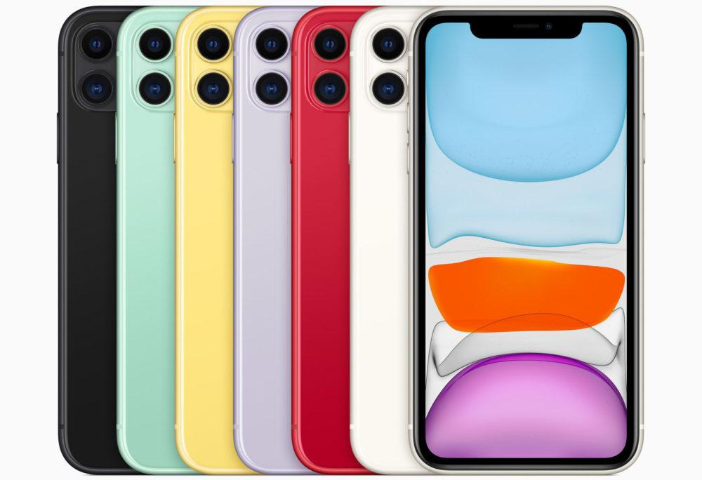 Apple iPhone 11 les Couleurs 1000x684 LiPhone 11 est arrivé : 2 nouveaux coloris, double appareil photo avec mode nuit, prix et disponibilité
