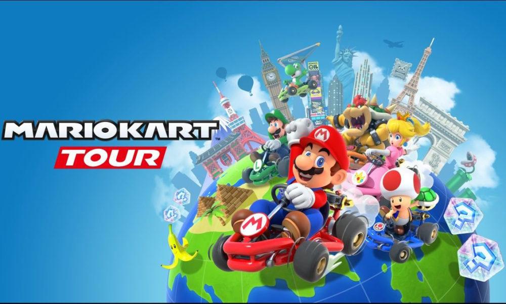 Mario Kart Tour 1000x600 Mario Kart Tour : le jeu est disponible au téléchargement sur iPhone, iPad et iPod touch