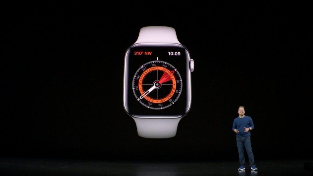 apple watch series 5 boussole LApple Watch Series 5 et lheure à chaque instant