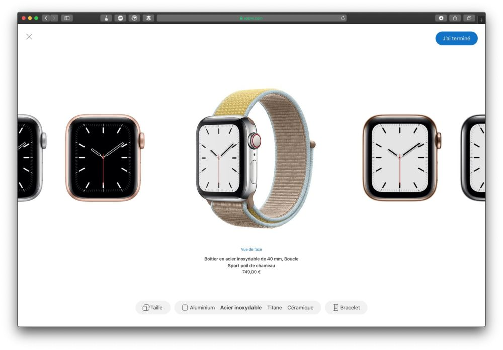 apple watch series 5 creer style LApple Watch Series 5 et lheure à chaque instant