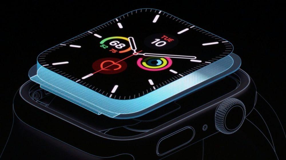 apple watch series 5 ltpo LApple Watch Series 5 et lheure à chaque instant
