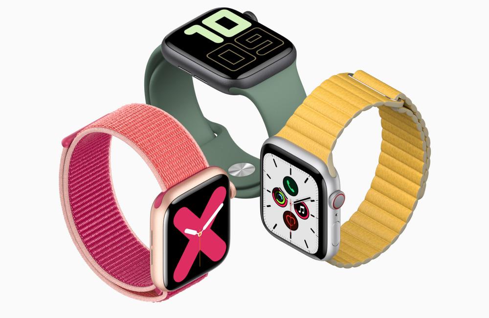 apple watch series 5 LApple Watch Series 5 et lheure à chaque instant