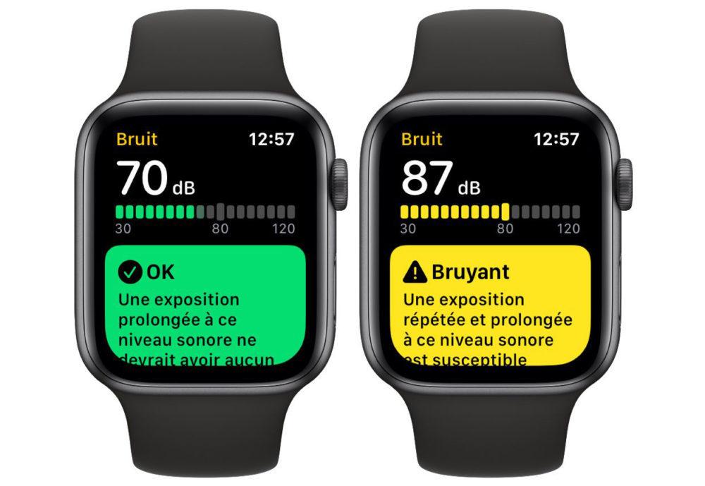 application bruit watchos 6 1000x689 Lapplication Bruit sera proposée sur lApple Watch Series 3 avec watchOS 6
